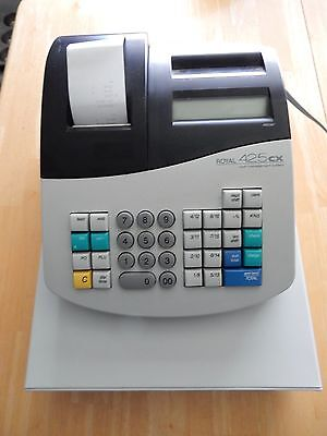Used Royal 425 cx cash register - Good Working Condition - No Key