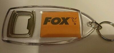 fox international carp fishing bottle opener keyring xmas gift idea