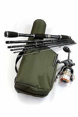 Limited Edition Executive Travel Fishing Rod, Reel And Case Rigged & Ready + Hc