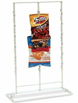 New Retail Countertop Clipper Store Display 36 Clips Rack 3 Rows White