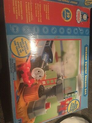 Thomas Train Water Tower Steam Set Motorized TOMY Nearly Complete