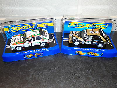 Scalextric/Superslot Lancia Delta S4 classic rally rivals lights DPR m/b