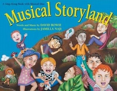 DAVID BOWIE January Special! MUSICAL STORYLAND CD and Book - RARE! NEW!