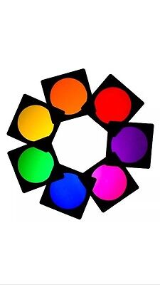 14 X Par Can 56 Lighting Filter Gel Theatre Club Stage  Dj Disco Colour Effects