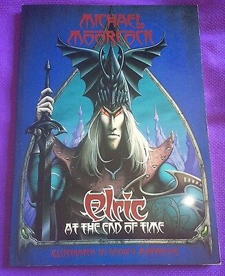 Michael Moorcock's ELRIC AT THE END OF TIME Illus Rodney Matthews Graphic Novel