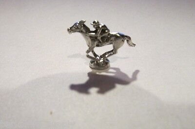 Two Dozen Pewter Race Horse And Jockey Figurines
