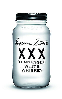 Popcorn Suttons XXX Tennessee White Whiskey 75cl (44% Vol)