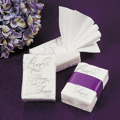 20 x Packs of Love Facial Tissues for Wedding Table Decor Gifts
