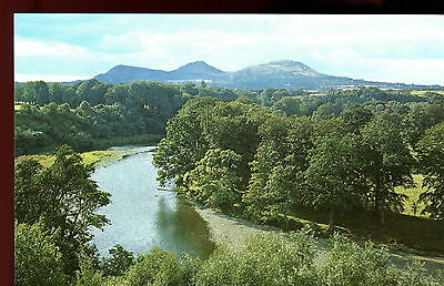 Eildon Hills from Braehead, St Boswells. Melrose, Scotland. Uncirculated/Unused