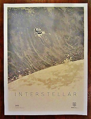 "INTERSTELLAR Miller's Planet Limited Edition Poster Kevin Dart Prints 12""X16"""