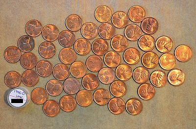 Roll Of 1946-D Lincoln Cents - Uncirculated With Problems