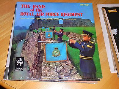 Lp/ The Band Of The Royal Air Force Regiment (1971 Uk Invicta