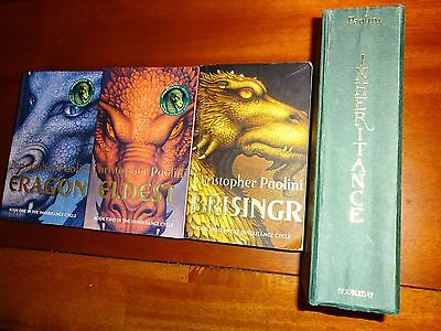The Inheritance Cycle By CHRISTOPHER PAOLINI Eragon Eldest Brisingr 4 Books