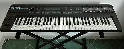 Roland D50 + Cd With Extra Sounds  And Editor Vintage Synthesizer D-50 D550