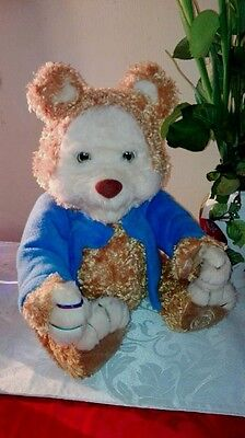 Playskool TJ Bearytales Plush Story Telling Teddy Bear