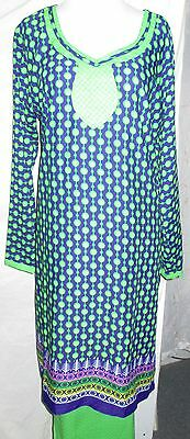 new women style beautiful printed crepe  salwar kameez Size 3XL 48  NET 4056
