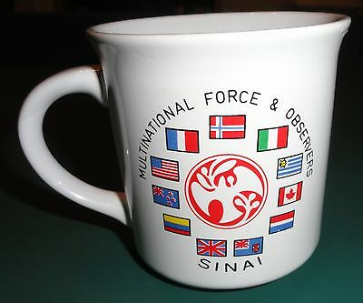 Military Multinational Force & Observers Sinai - coffee mug cup