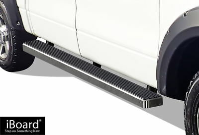 """5"""" iBoard Running Boards Fit 04-08 Ford F-150 SuperCrew Cab"""