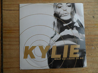 "Kylie What Do I Have To Do 7"" Single PWL 1990 VG+ Condition.."