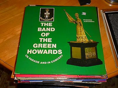 Lp/ Band Of The Green Howards /on Parade & In Concert (1970 German Green Howards