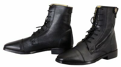TuffRider wellesley lace up paddock boots size 11