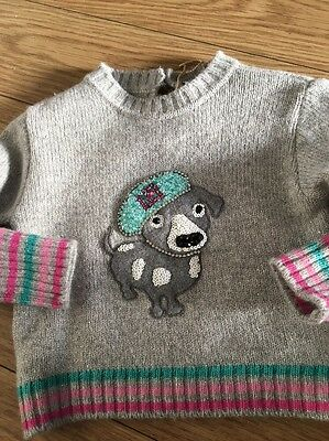 Laura Biagiotti Baby Girl 0/3m Jumper Part Cashmere / Sequins / Diamonte s