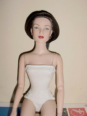 "Mint- AVA ULTRA  BASIC 16"" NUDE HAS A BATHING SUIT Doll Tonner Convention"