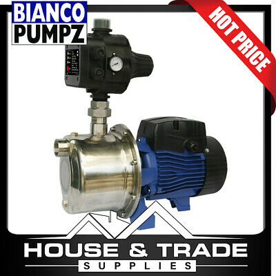 BIANCO PUMPZ Surface Mounted Clean Water With Auto Pump Control BIA-INOX60S2MPCX