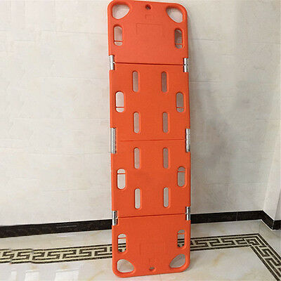 Ambulance/Home Beyond Orange Foldable Medical Bed Stretcher Patient Rescue M99G