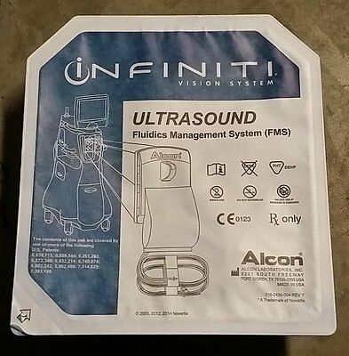 NEW ALCON INFINITI Ultrasound FMS w/ MicroSmooth Sleeves EXP 2018