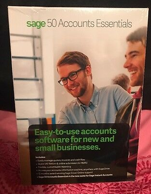 New Sage 50 Accounts Essentials 2016  (Boxed Product)