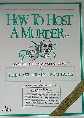 """How To Host A Murder""""  Dinner Party Game"""