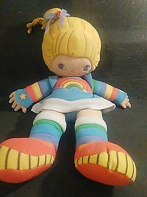 Rainbow Brite Lg Plush Pillow Type Doll Lovable