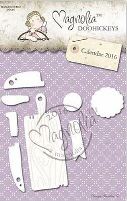 Magnolia Stamps DooHickey - Medallion and Cutting Board RC17-05