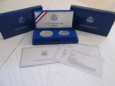 Lot of Four Silver Proof Sets and 1972 Haile Selassie Silver Coin