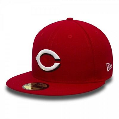 Casquette MLB Cincinnati Reds New Era Game Team Structured 59fifty