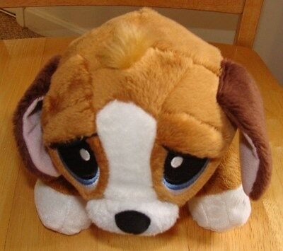 """Rescue Pets Healthy Pup Pet Check Up Plush Beagle Puppy Dog 9"""" Electronic"""