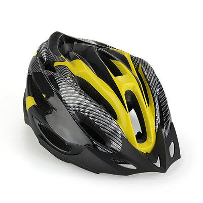Unisex Adult Bike Bicycle Safety Helmet Road with vis Cycling Visor Local Stock