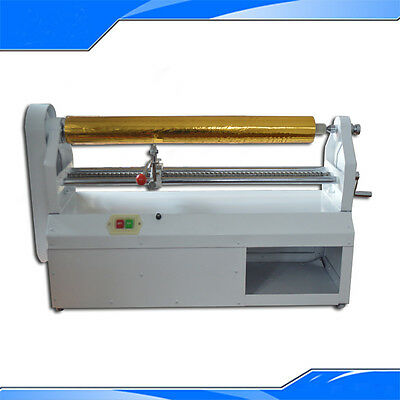 Electric 110V Hot Stamping Foil Paper Cutter Stamping & Embossing Cutter Machine