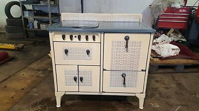 Original 1937 American Stove Company, Ivory Porcelain Stove