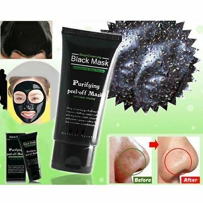 Blackhead Remover Nose Face Mask Strip Black Head Pore Acne Cleansing Mud XG