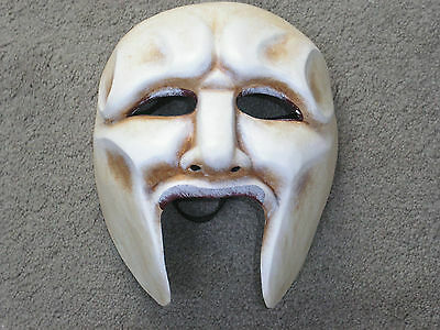Greek theater style MASK.  Production grade.  Adult size.  NEW. Chorus.  costume