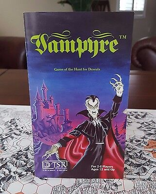 VAMPYRE by TSR 1980 Rare and Complete!