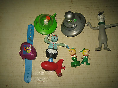 """7 Rare Htf Hanna-Barbera The Jetsons Collectable Figure's Lot  """"sold As Is"""""""