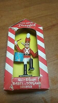 Vintage Marx Toys Disneykin Babes in toyland Marching soldier TINY Version 1961