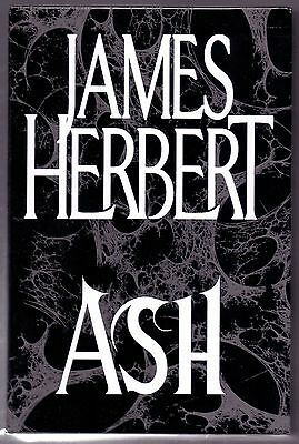JAMES HERBERT Ash. SIGNED LImited First Edition. As New in slipcase
