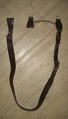Soviet Army Military Officer Shoulder Genuine Leather Strap New Old Stock