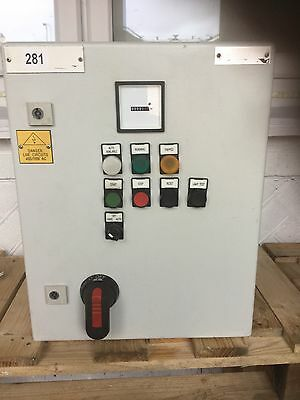 Control Panel Box Enclosure For Motor Pump DOL ASD
