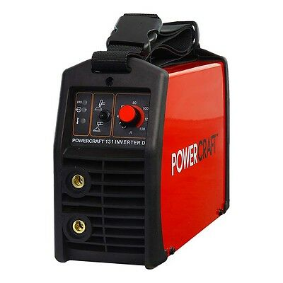 Powercraft 131-INVERTER VRD ARC/TIG WELDER K690411 Output 20-130Amp, 240Volt
