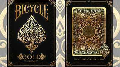 Bicycle Gold Deck by US Playing Cards - Trick magic trick